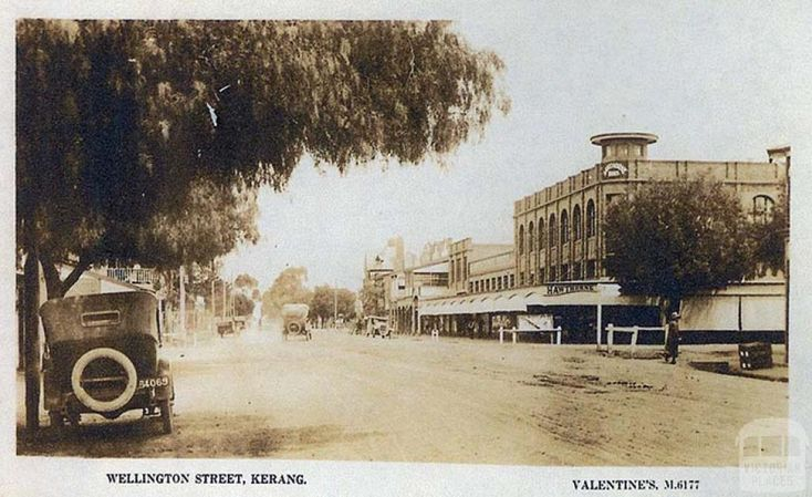 Wellington Street, Kerang, c1910