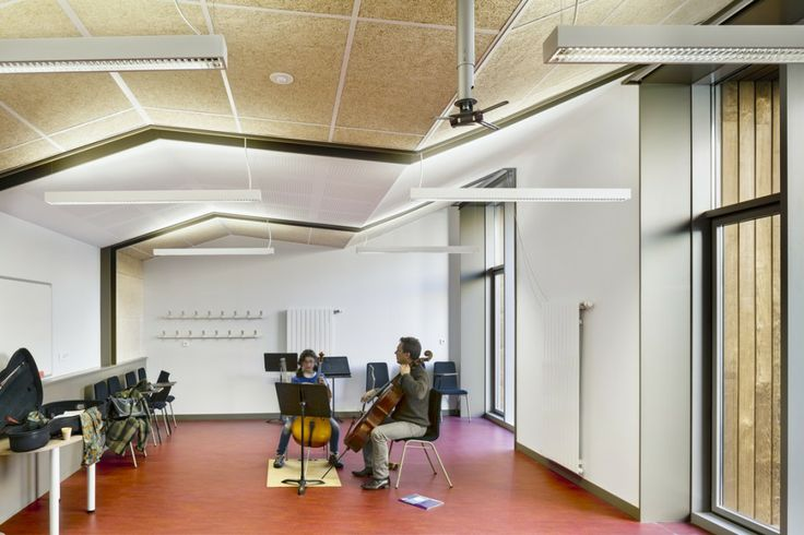 Music Conservatory in Paris' 17th Arrondissement / Basalt Architects