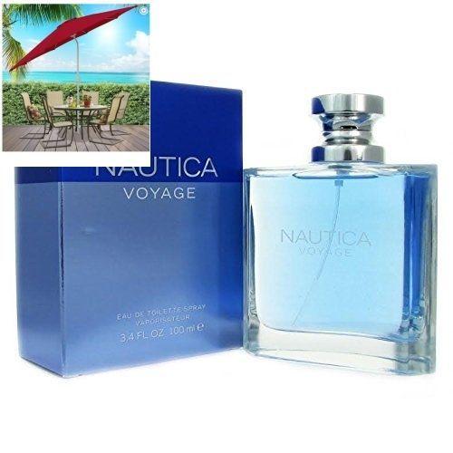 NAUTICA VOYAGE Men Perfume Eau De Toilette Spray 3.4 Oz 100 Ml. New In Box  #Nautica
