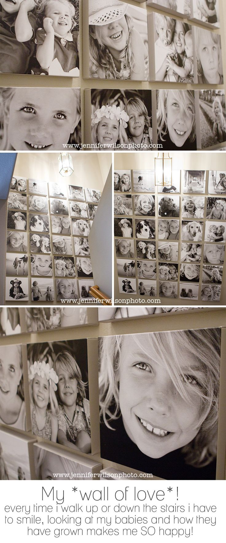 My *wall of love* – and a Cyber-Monday deal that's too good to pass up! » Los Angeles children and baby photographer Jennifer Wilson Photography, modern lifestyle kids portraits