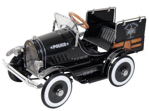 dexton police pick up pedal car toy salepolice