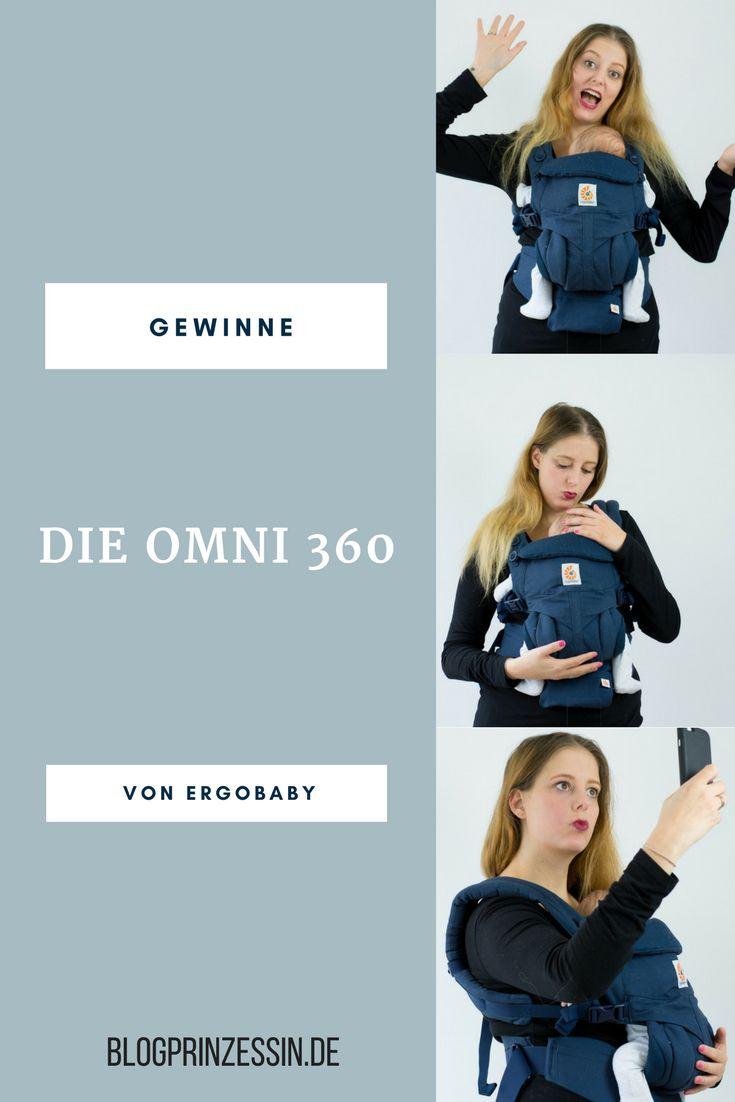 (Werbung) Gewinne die Omni 360 Babytrage von Ergobaby. #babytrage #babywearing