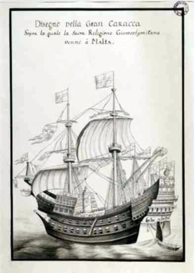 The Santa Anna, a pre-industrial armoured ship