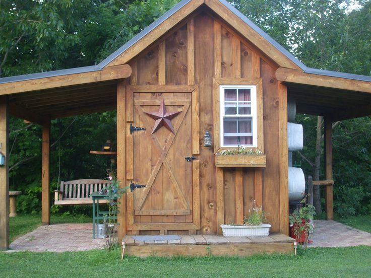 992 best garden sheds play houses and greenhouses images for Interesting garden buildings