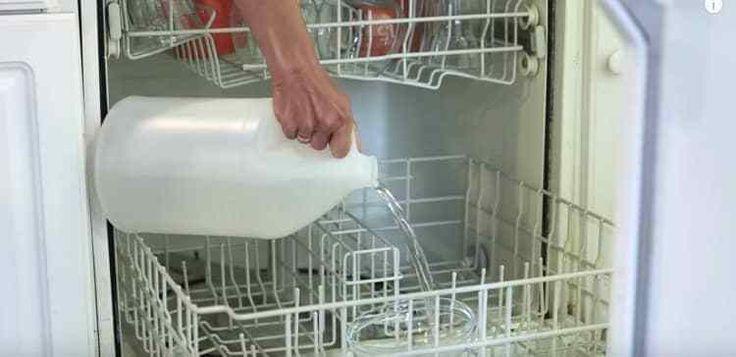 Neem een lege fles (af)wasmiddel of een andere plastic fles en mix 1/3 azijn met 1/3 afwasmiddel en 2/3 water. Schud het gehee...