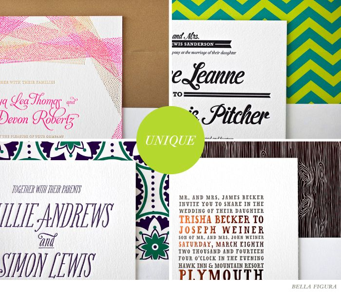How to pick the perfect fonts for your wedding invitations.