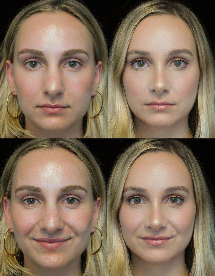как сделать нос меньше на фотографии необходимо постараться взять