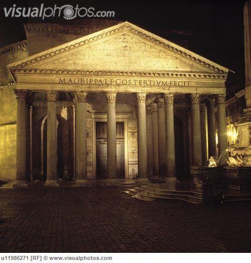 Roman Architecture Ancient Roman Architecture U11986271 Stock