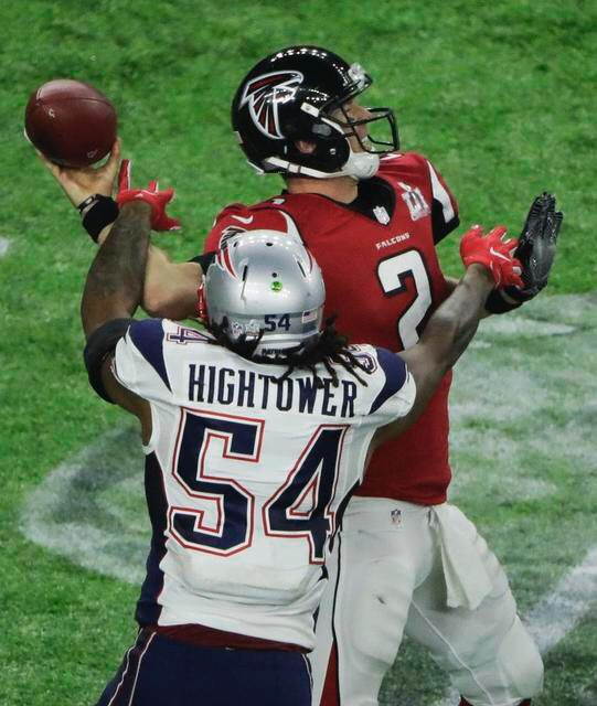 Hightower with the strip sack #GameChanger #SBLI #1More