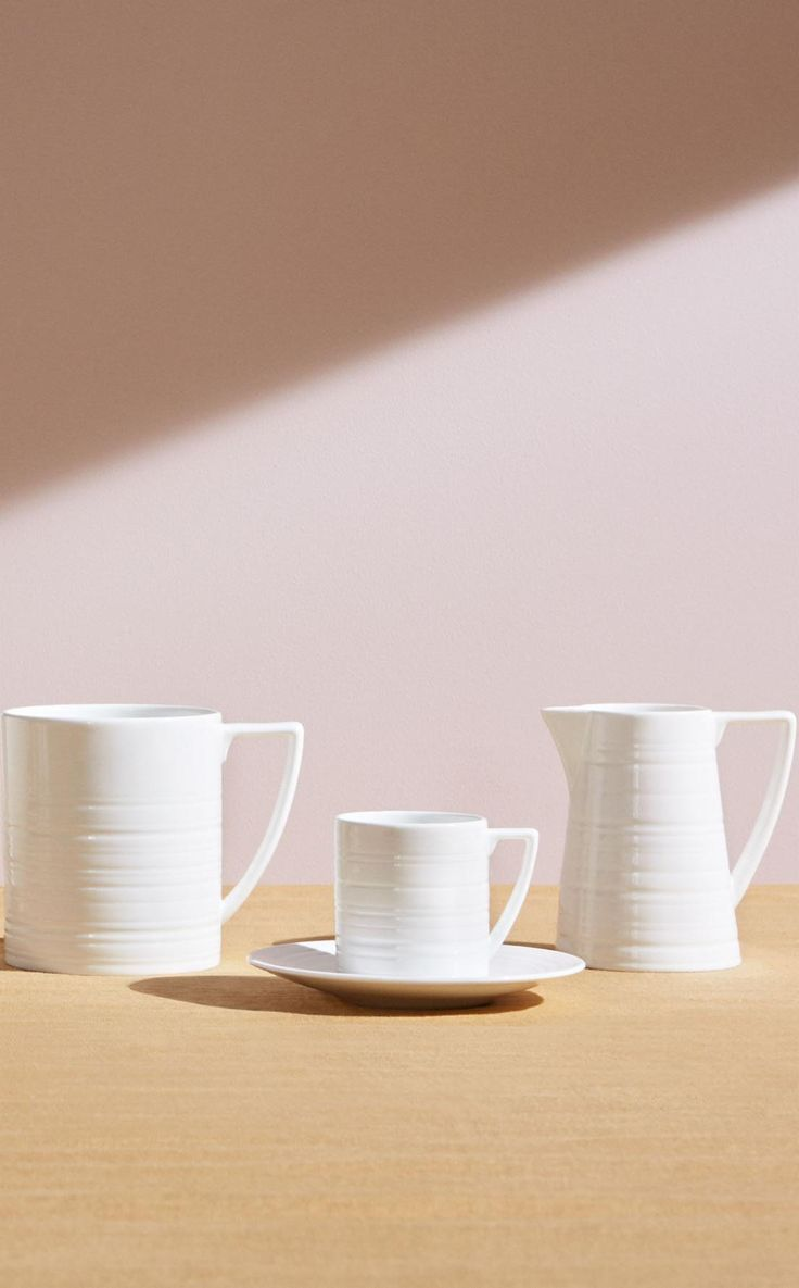 Versatile teaware - part of the Jasper Conran Strata collection for Wedgwood.