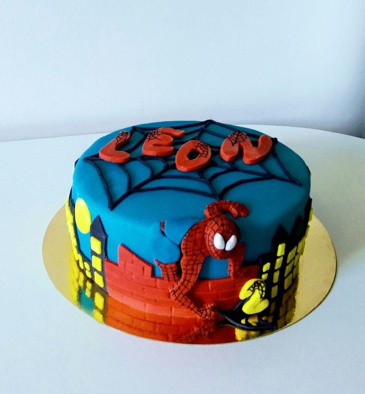 Tort urodzinowy cake spiderman