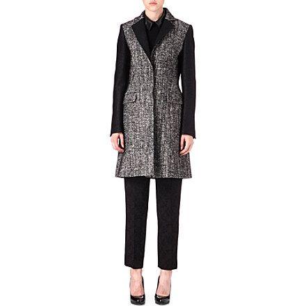 Karen Millen tweed coat