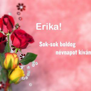 Erika sok boldog névnapot