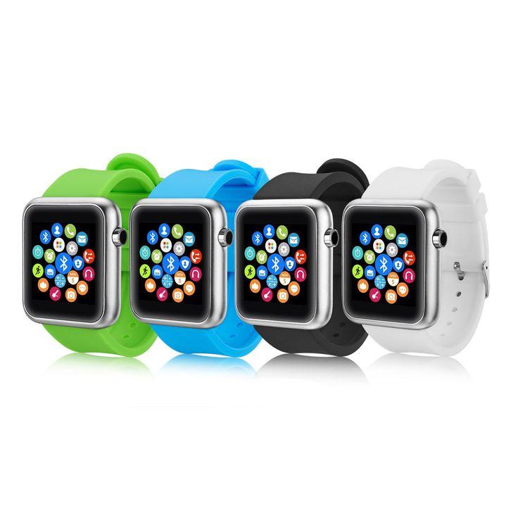 Smart Uhr Bluetooth Smartwatch BT Sync Für iPhone 4 4 S 5 5 S Samsung S4 Note3 HTC Relogio Inteligente Reloj Tragbare geräte //Price: $US $18.50 & FREE Shipping //     #meinesmartuhrende