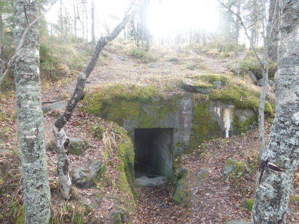 Комплекс финских оборонительных сооружений в г. Медвежьегорске   23 фотографии