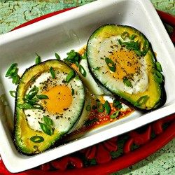Paleo Baked Eggs in Avocado Allrecipes.com