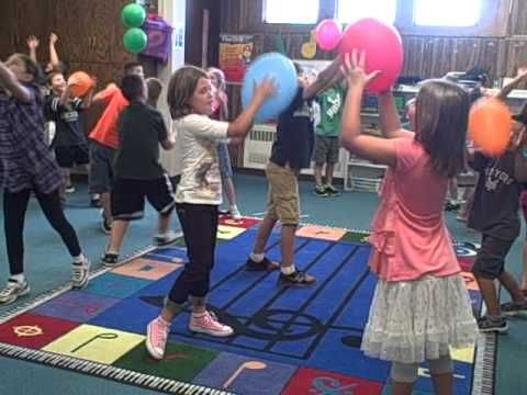 Dalcroze Eurhythmics Whole note with a partner - YouTube