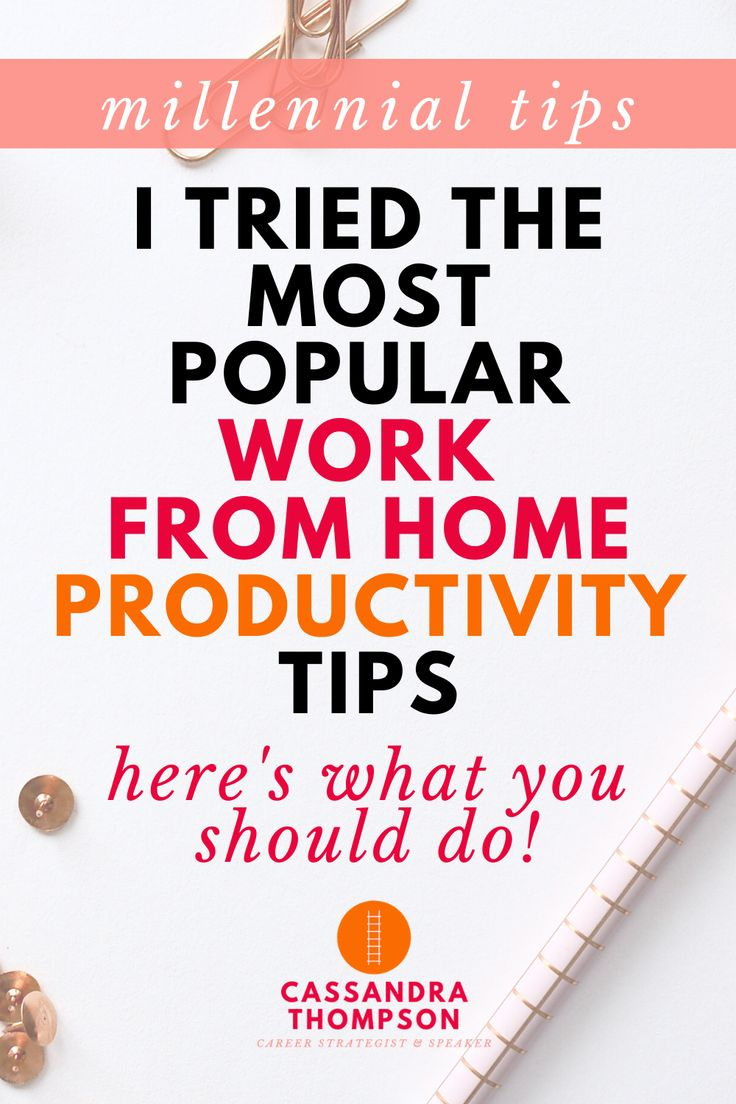 I tried the MOST POPULAR Work From Home Productivity Tips