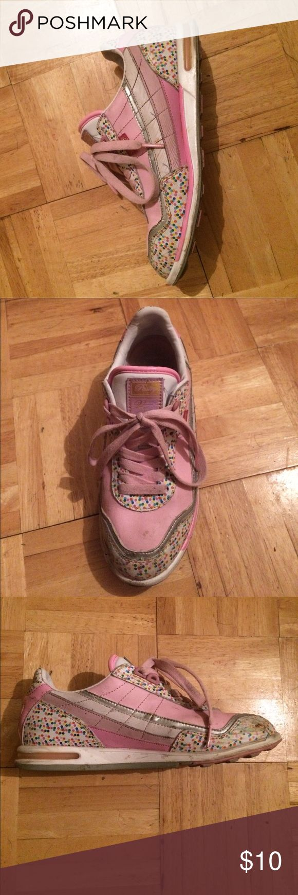 Kawaii shoes Pink and playful very kawaii pastry Shoes Sneakers