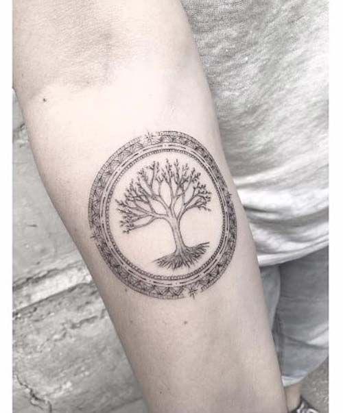 ağaç dövmeleri tree tattoos
