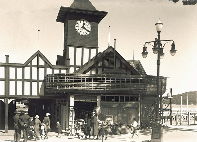Manly Wharf by State Records NSW, via Flickr 1936