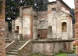 The Temple Isis, Pompeii, Italy