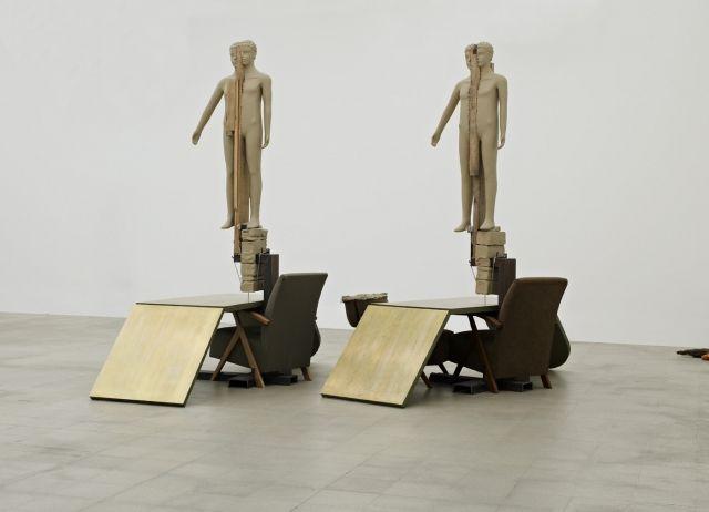 Livingroom Scene - Works - Mark Manders
