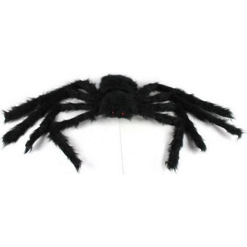 Queen-size Plush Black Big Spider/Halloween Prop/Decoration/Stuffed Animalat EVToys.com