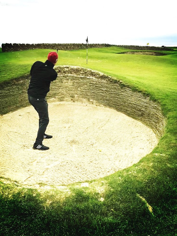 Golf in action in Scotland!