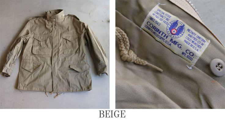 CORINTH(コリンズ)M-65 フィールドジャケット【MADE IN U.S.A】『米国製』/ デッドストック - 【 Audience 】