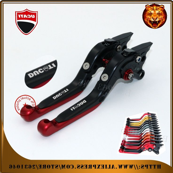 41.39$  Watch here - http://alikjg.worldwells.pw/go.php?t=32764193999 -  For DUCATI ST4/S/ABS ST3/S/ABS SPORT 1000 GOLD  RED Moto Motorcycle Adjustable Folding Extendable Brake Clutch Leve