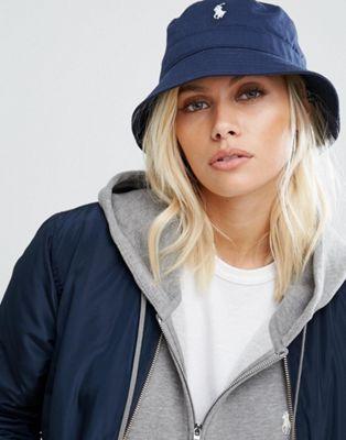 Polo Ralph Lauren Bucket Hat in Navy