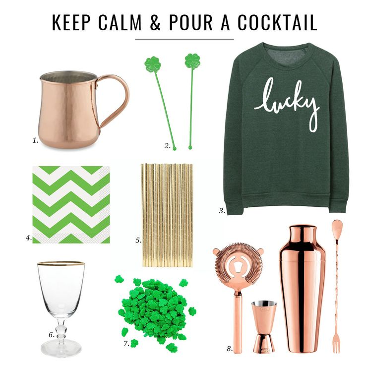 Keep Calm and Pour a Cocktail