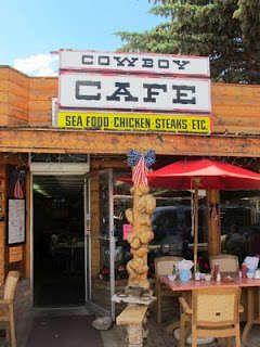 Cowboy Cafe, Dubois, Wyoming, on the way to Grand Teton National Park, Yellowstone, etc.