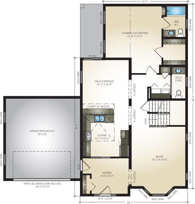 excellent profab de maisons modulaires usines prfabriques modle provence with maisons modulaires. Black Bedroom Furniture Sets. Home Design Ideas