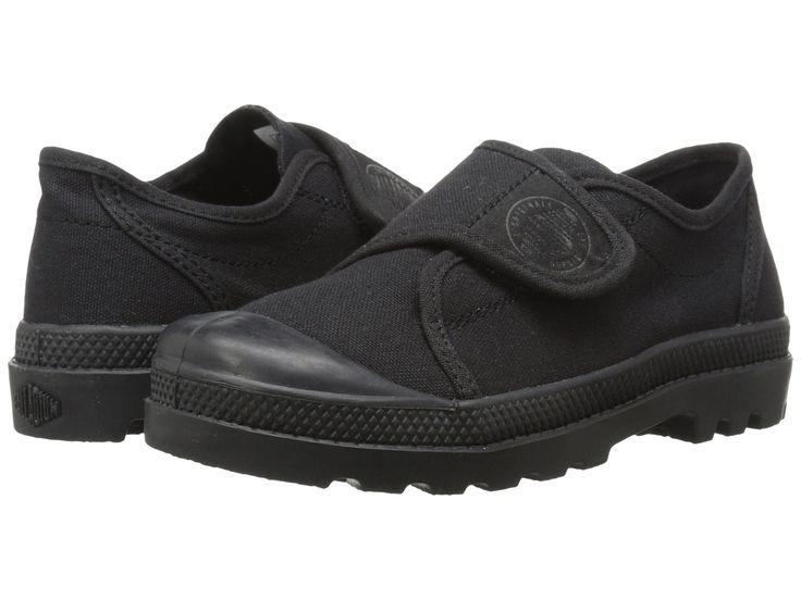 PALLADIUM- PAMPA OX VELCRO BLK - Too Cool For School