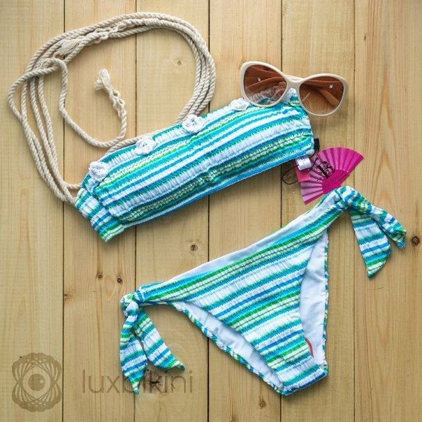 Bonitalola. Италия. Артикул: RBL629 Размеры: S, M, L, XL. Цена: 6200 руб. Подписчикам скидка 5%! #sweamwear #italy #beachwear #tabby #turquoise #handmaid #bikini #swimsuit #beautiful #lovely #moscow #sea #beach #купальник #бикини #ручнаяработа #италия #москва #море #пляж #пляжнаяодежда #бирюзовый #полоска