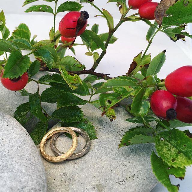Nu är det höst #höstbröllop #bröllopsinspiration #vigselring #förlovningsring #ekoguld #återvunnetguld #omarbetatguld #guldsmed #ekoguldsmed #ekobröllop #smycken #hantverk #handmadejewelry #weddinginspiration #fairminedgold