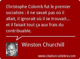 Définition du socialisme selon Winston Churchill