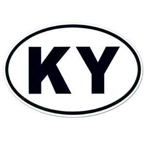 Kentucky Euro Sticker