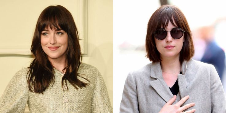 So long, Anastasia Steele. The actress officially buries her Fifty Shades persona (until those sequels get sorted out, of course) by shaping her school-marm layers into a chic, blunt bob.