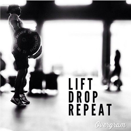 Lift Drop Repeat- Average-to-Beast