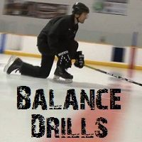 Post image for 5 Balance Drills for Hockey Players – Learn to Skate Series