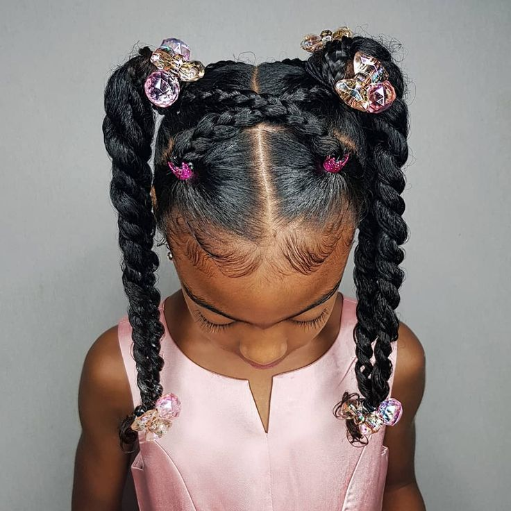 Some new 30 min hairstyle inspiration for the mommys who can not cornrow! I got ya! 💪🏾 Janelle looks sooooo extremely cute with this style! 😍😍😍 @shanilliandjanelle - #kidshairstyles #kidshairsinspo #naturalgirlsrock #naturalhair #shanillia26
