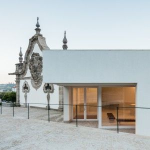 Álvaro Siza and Eduardo Souto de Moura team up for Portuguese museum project.