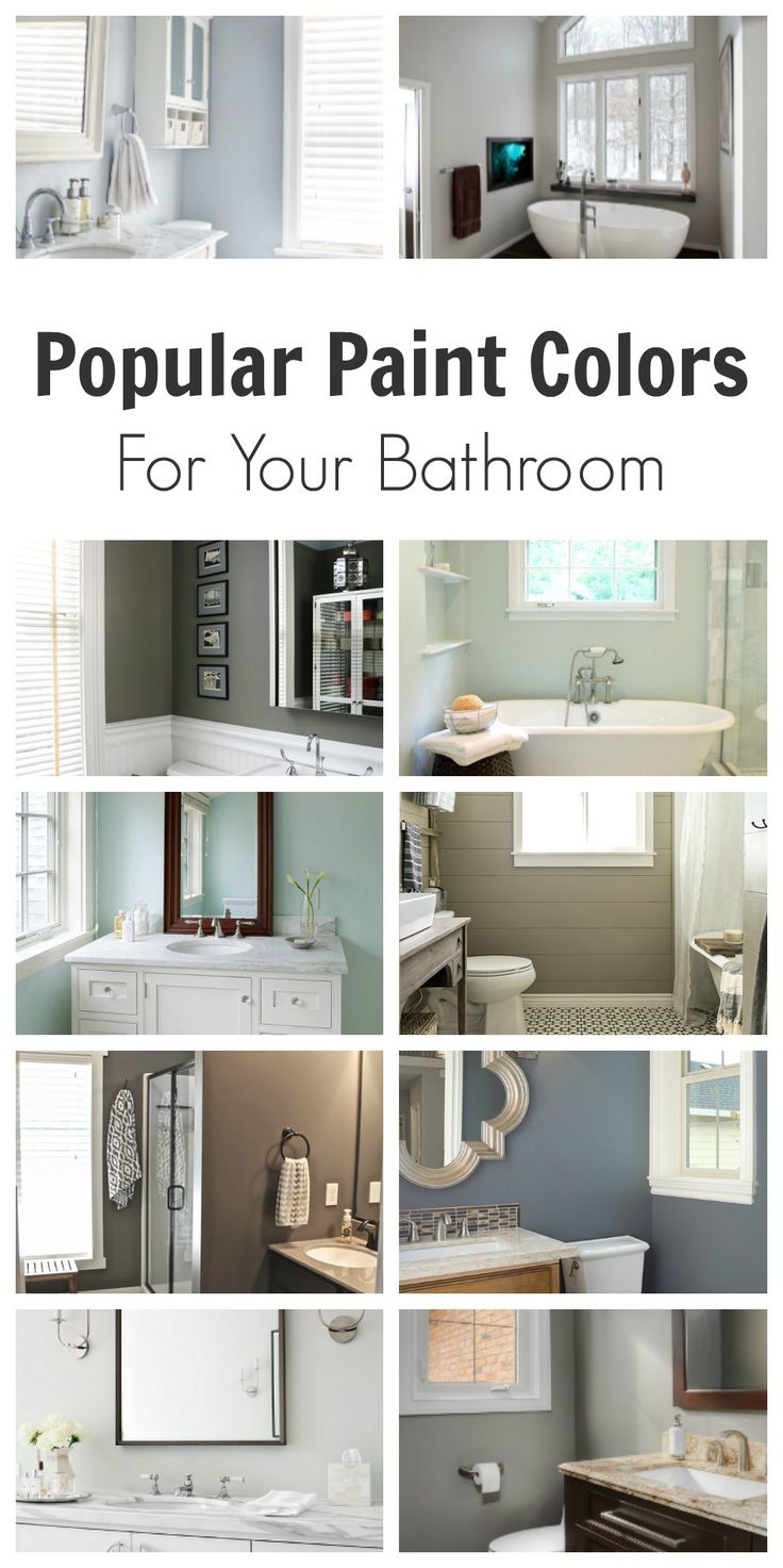 Popular Paint Colors For Bathrooms 291 best paint colors images on pinterest | paint colours, wall