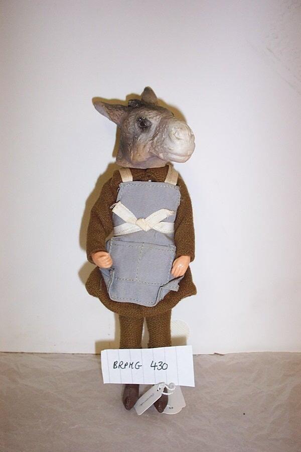 """Bridport Museum. """"this 'Bottom' from 'A Midsummer Night's Dream' doll! """""""