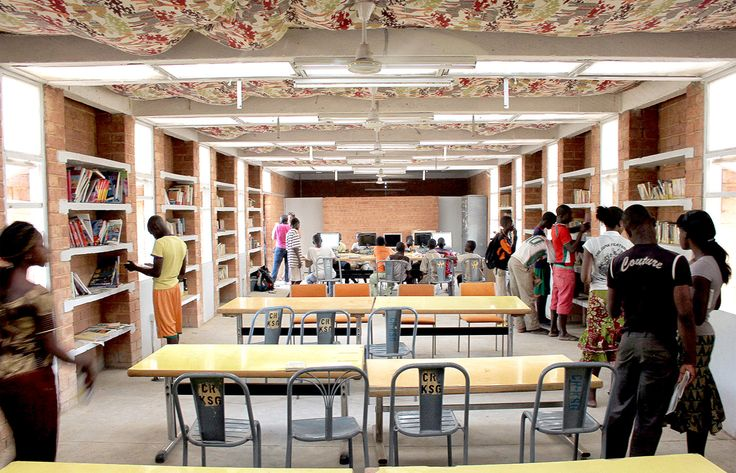 Katiou Library  / Albert Faus, Courtesy of Albert Faus