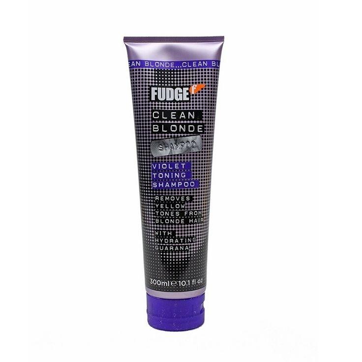 Fudge Clean Blonde Violet Toning Shampoo 300ml. ALE 17,90e. Tai mikä tahansa muu shampoo (kampaamotuote) vaalennetuille hiuksille.