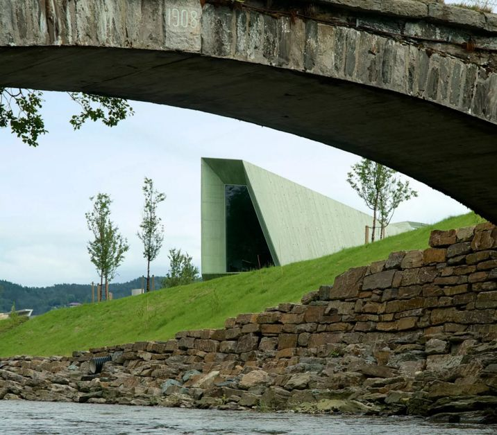 #Architecture in #Norway - #VisitCenter by Jarmund/Vigsnæs Architects